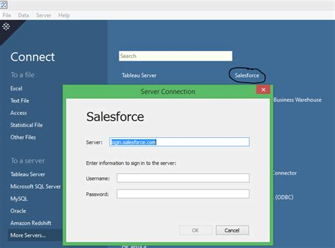 reset tableau online password extracting salesforce com sfdc data to tableau
