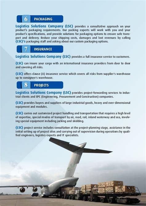 Introduction Letter Freight Forwarding Company lsc introduction letter