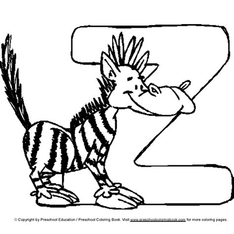 www preschoolcoloringbook com letter coloring page