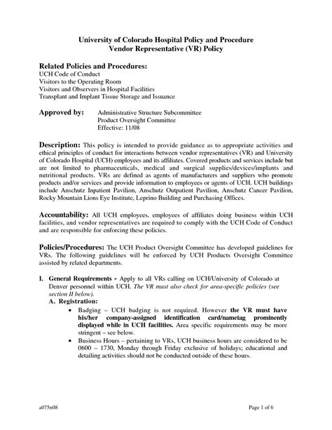 policies and procedures template for small business policies and procedures template best business template