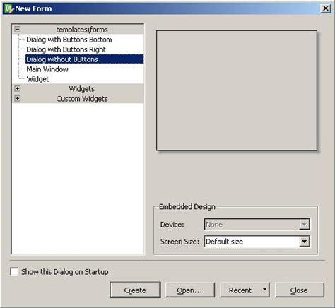 qt layout dock qt4 how do you use dialog forms in qt designer stack