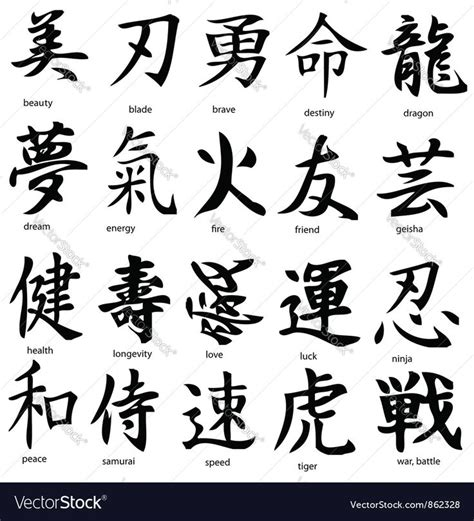 tattoo japanese kanji 9 best chinese tattoos and tattoo designs images on