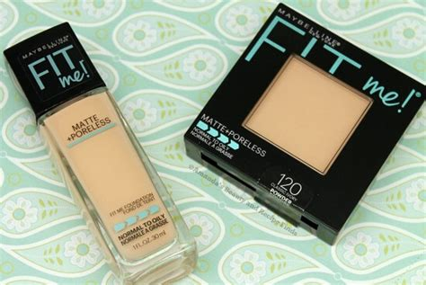 Maybelline Fit Me Foundation Review Indonesia maybelline fit me matte poreless powder classic ivory daftar update harga terbaru indonesia