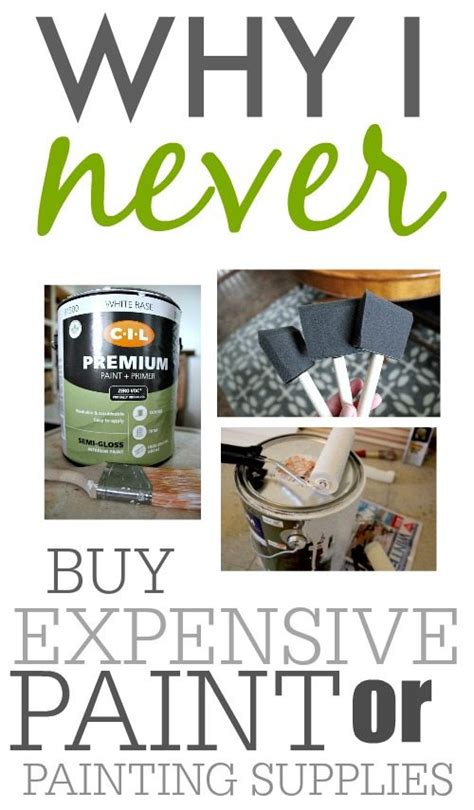 where to buy cheap paint for house why i never buy expensive paint or painting supplies the creek line house
