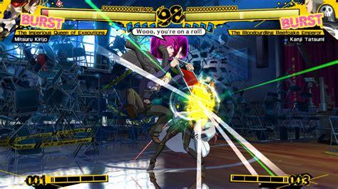 persona 4 arena persona 4 arena launch screenshots gaming trend