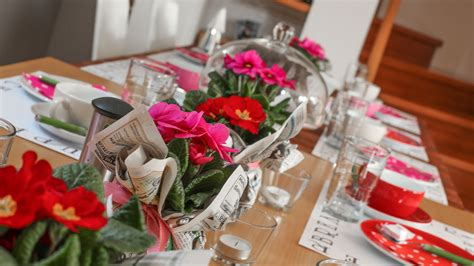 dekorieren eines speisesaals buffet es wird fr 252 hling neue deko ideen f 252 r ihre feier die