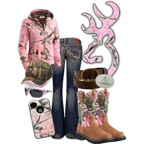 Browning in Pink Camo   Polyvore