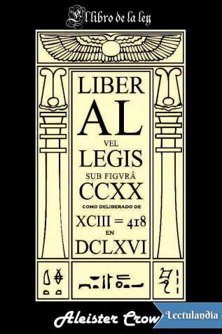 libro aleacion de ley nova el libro de la ley aleister crowley descargar epub y pdf gratis lectulandia