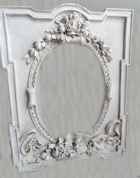 white room decor shabby chic painted antique frame a