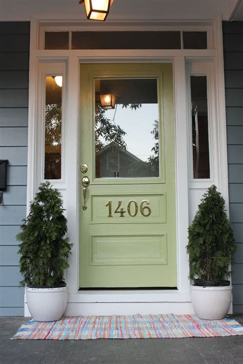 boothbay blue hardie plank siding and great green front door by sherwin williamslakes house