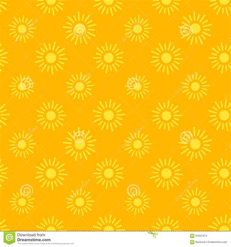 seamless pattern app sun icons seamless pattern stock vector image 64307973
