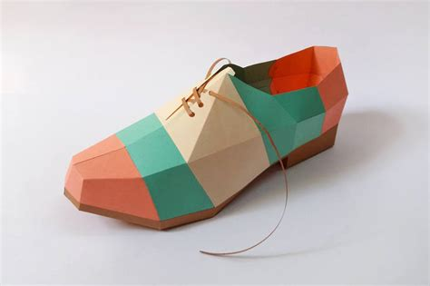 how to make paper shoes templates diy papercrafts paper shoe pointed by paperamaze on zibbet