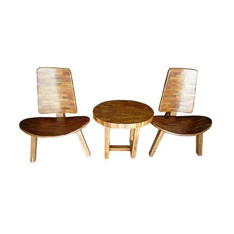 jual best furniture kursi santai teras liman jati klasik 1 set harga kualitas