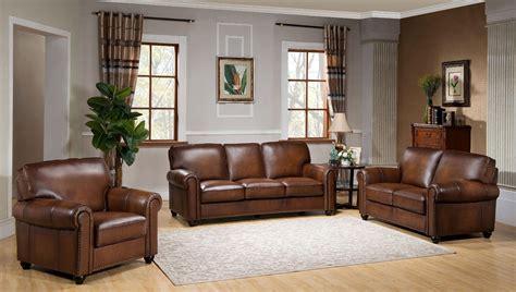 brown leather living room set royale camel brown leather living room set from amax