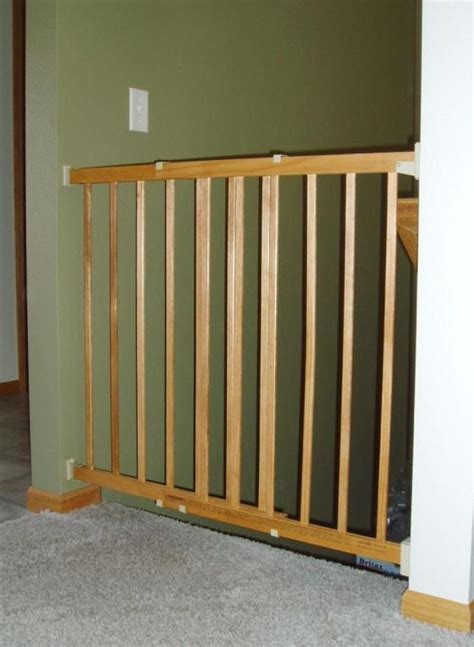 wooden baby gates for stairs with banisters 25 best ideas about wooden baby gates on pinterest