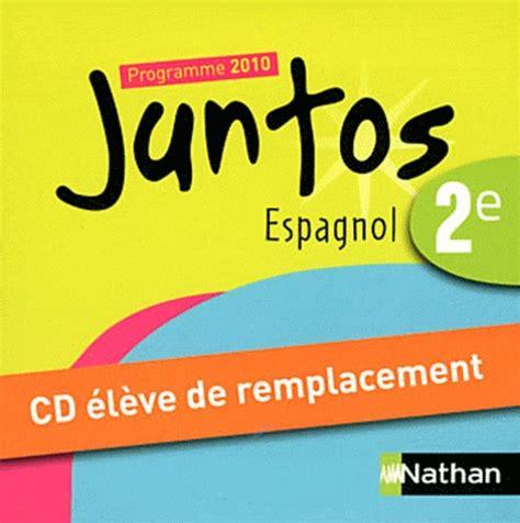 espagnol 2e juntos programme 2091739928 livre education civique 4e achat vente livre