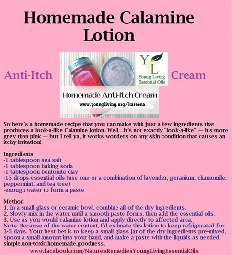 calamine lotion with essential oils learn more
