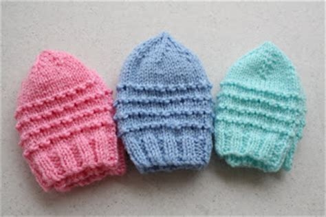 how to m1p in knitting just my size preemie hat pattern knit all crafts for
