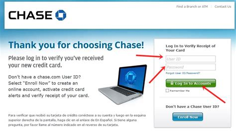 chaise online www chase com verifycard verify and activate chase