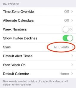 Icalendar Not Syncing Ios Tip Calendar Events Not Syncing This May Be The