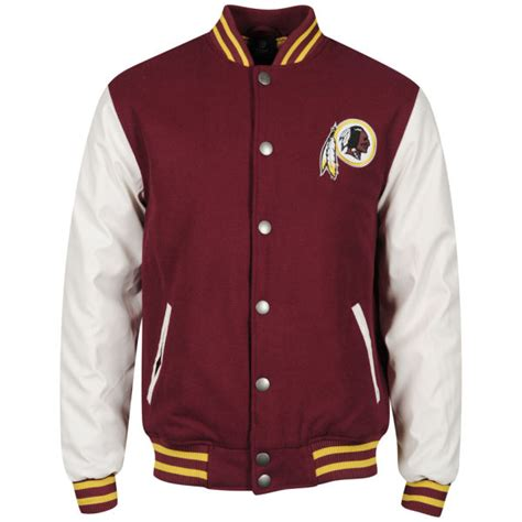 Jaket Jacket Murah King Maroon majestic s redskins series letterman jacket burgundy sports leisure zavvi