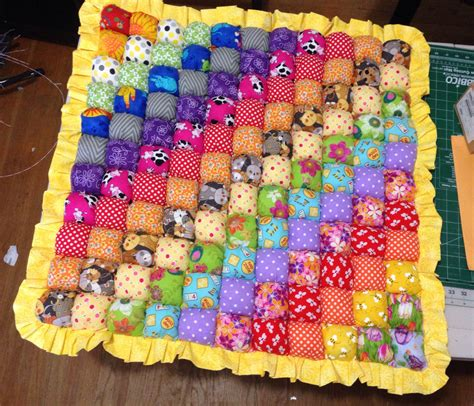 Bisquit Quilt by Rainbow Biscuit Quilt Quilt Play Mat By