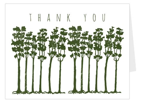 your tree trees thank you