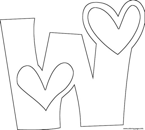 love w free alphabet s6f30 coloring pages printable