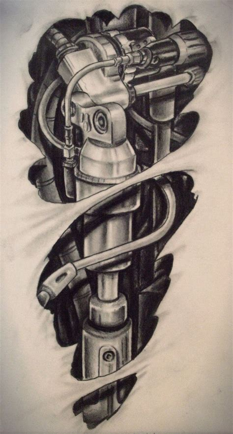 biomech tattoo designs 25 best ideas about biomechanical design on