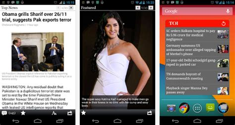 www timesofindia mobile the times of india android application