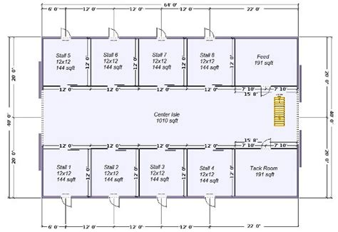 barn layout plans horse barns 187 pole barns
