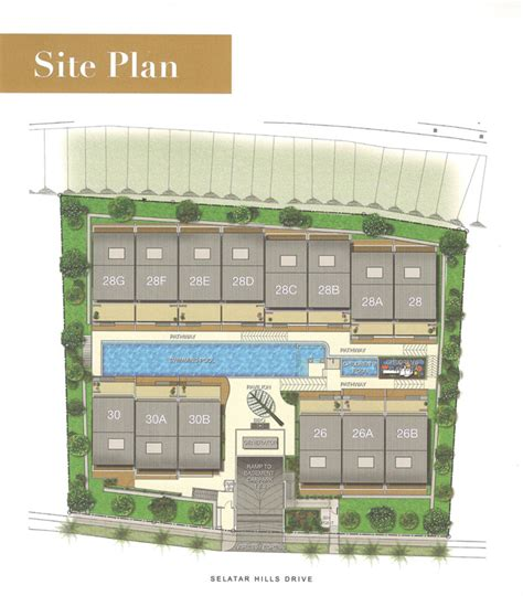 cluster house plans 999 yrs private cluster house project at seletar
