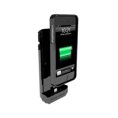 yellow jacket case turns your iphone 5s into a stun gun