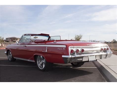 buy chevrolet impala 1962 chevrolet impala for sale 81 used cars from 2 000