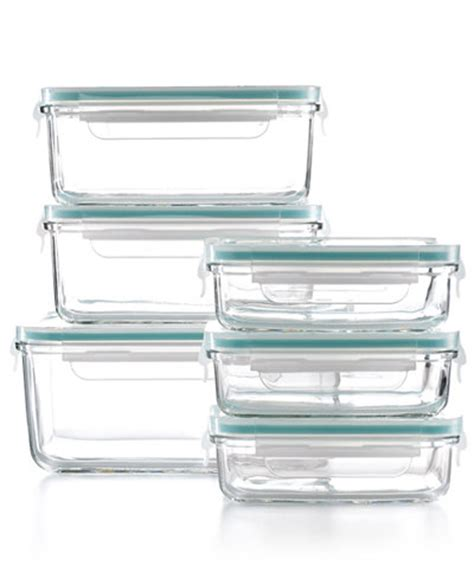Martha Stewart Collection Glass Food Storage Containers | martha stewart collection 12 piece glass food storage