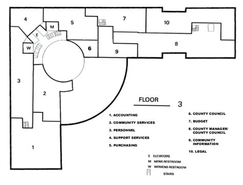 admin building floor plan building locations and facilities