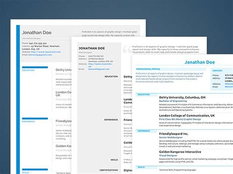 Best Font For Resume Lifehacker by Land Your Dream Job With The Resumonk Resume Creator 89