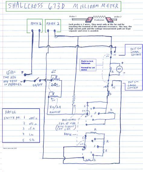 og panel meter wiring diagram wiring diagram