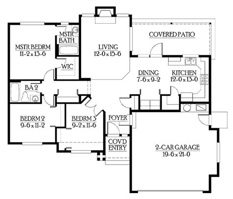 Starter Home Plans by Exceptional Starter Home Plans 6 Starter Home Floor Plan