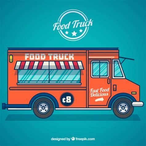 food truck design vector food truck vector free download