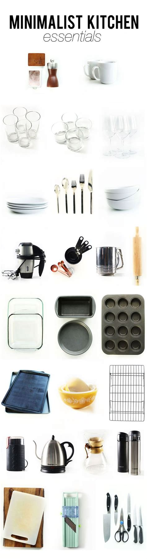 kitchen essential kitchen essentials minimalist kitchen and kitchens on