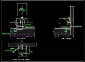 Kitchen Cabinet Layout Tools wash basin plumbing details plan n design
