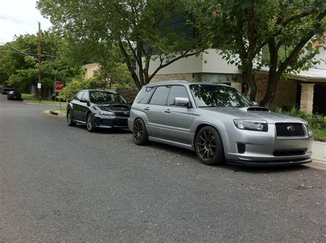 subaru forester lowered lowered foresters nasioc