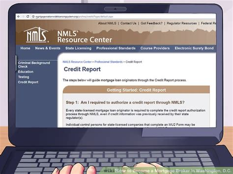 Nmls Background Check How To Become A Mortgage Broker In Washington D C 12 Steps