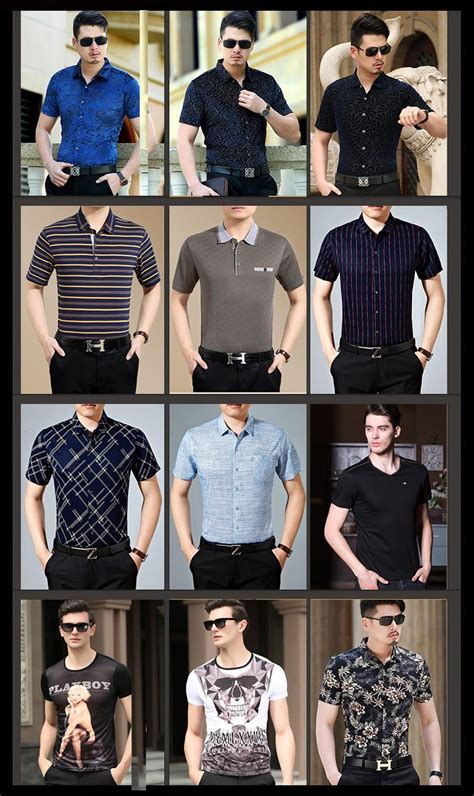 High Quality Imported Clothes Black Slim Style Dress Longdress new brand 2016 summer mens dress shirts sleeve