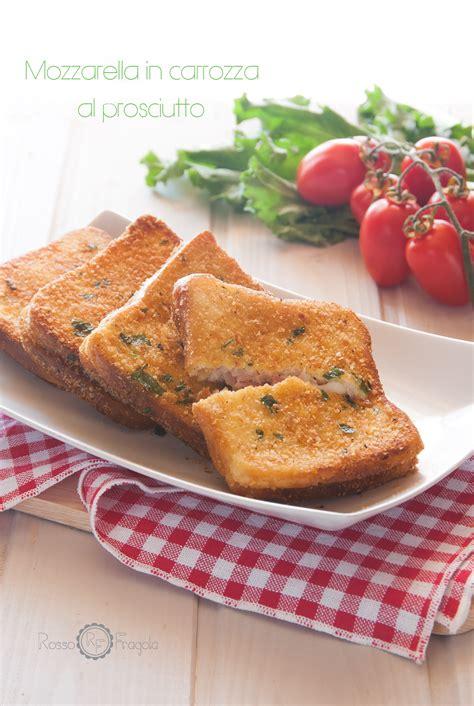 mozzarella in carrozza al prosciutto ricetta rivisitata