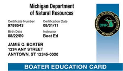 pa boating safety certificate dnr boating safety certificate