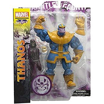 amazon.com: marvel select thanos action figure: toys & games