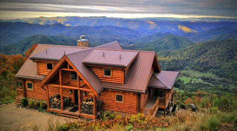 blue ridge mountain cabin rentals in va nc ga tn wv