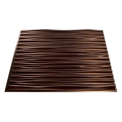 surface mount ceiling tiles shop fasade rubbed bronze faux tin surface mount